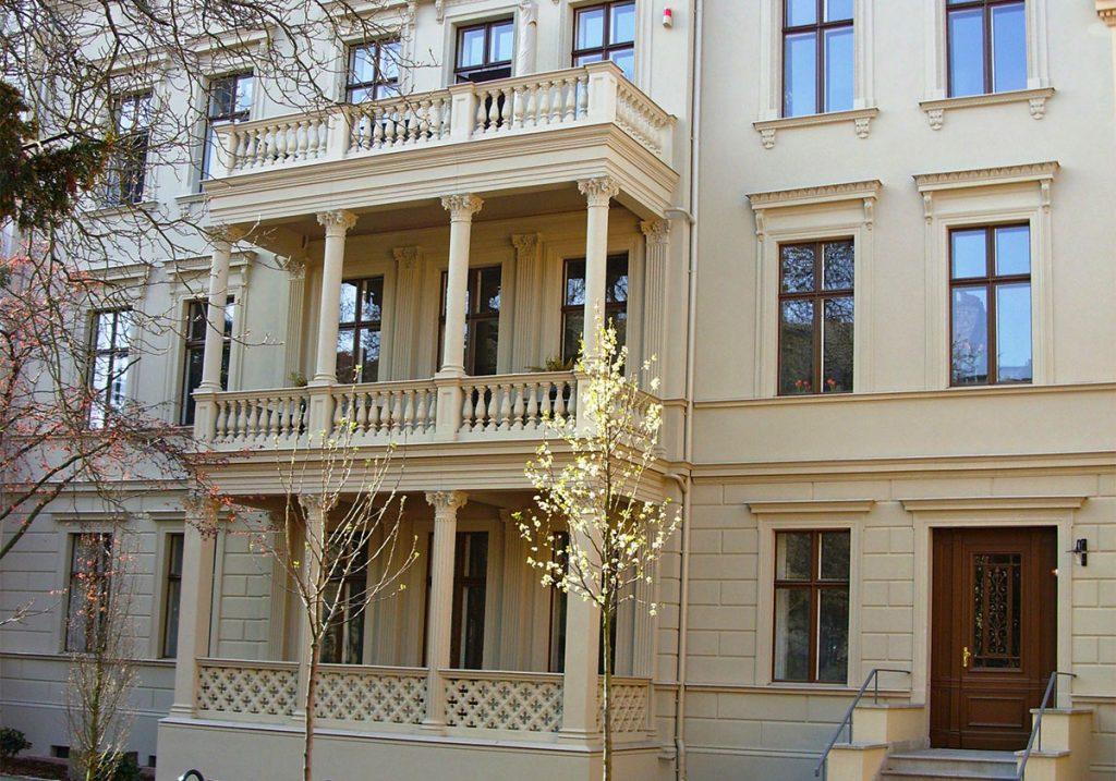 Villa Koch Potsdam Frontansicht