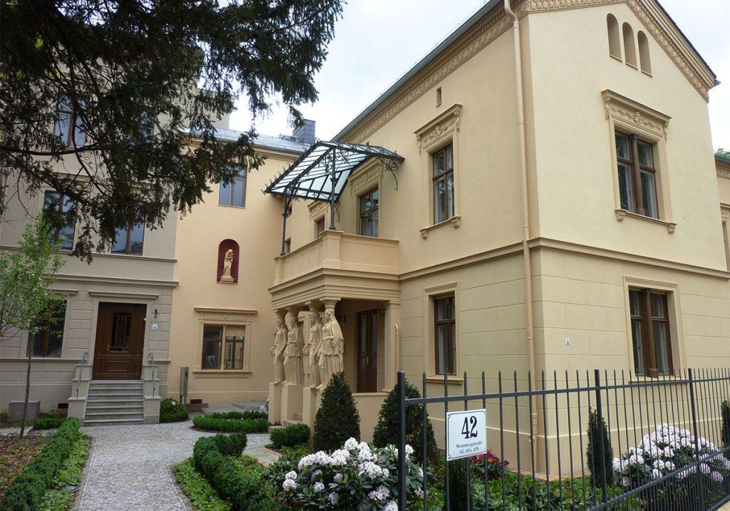 Villa Koch Potsdam Ansicht Eingang